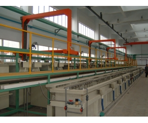 Automatic barrel acidic zinc alloy plating line