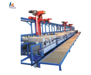 Barrel plating line, rack plating line, electroplating machine