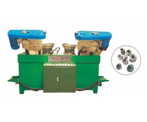 Pnumatic Double Spindle high and long Nuts Tapping Machine