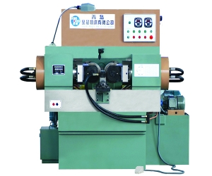Round die rolling machine