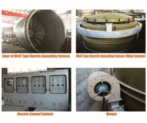 Well type annealing furnace / eletric heating