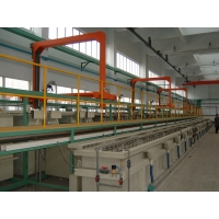Automatic Crane-Type Barrel Galvanize Equipment Barrel Plating System