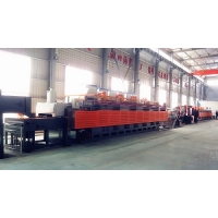 China Mesh belt type heat treatment furnace supplier factory