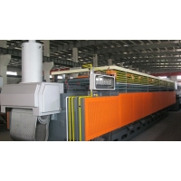 Continuous mesh belt furnace China supplier