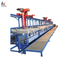 Electroplating machine/ Electroplating line/ Acid or alkaline zinc plating line equipment