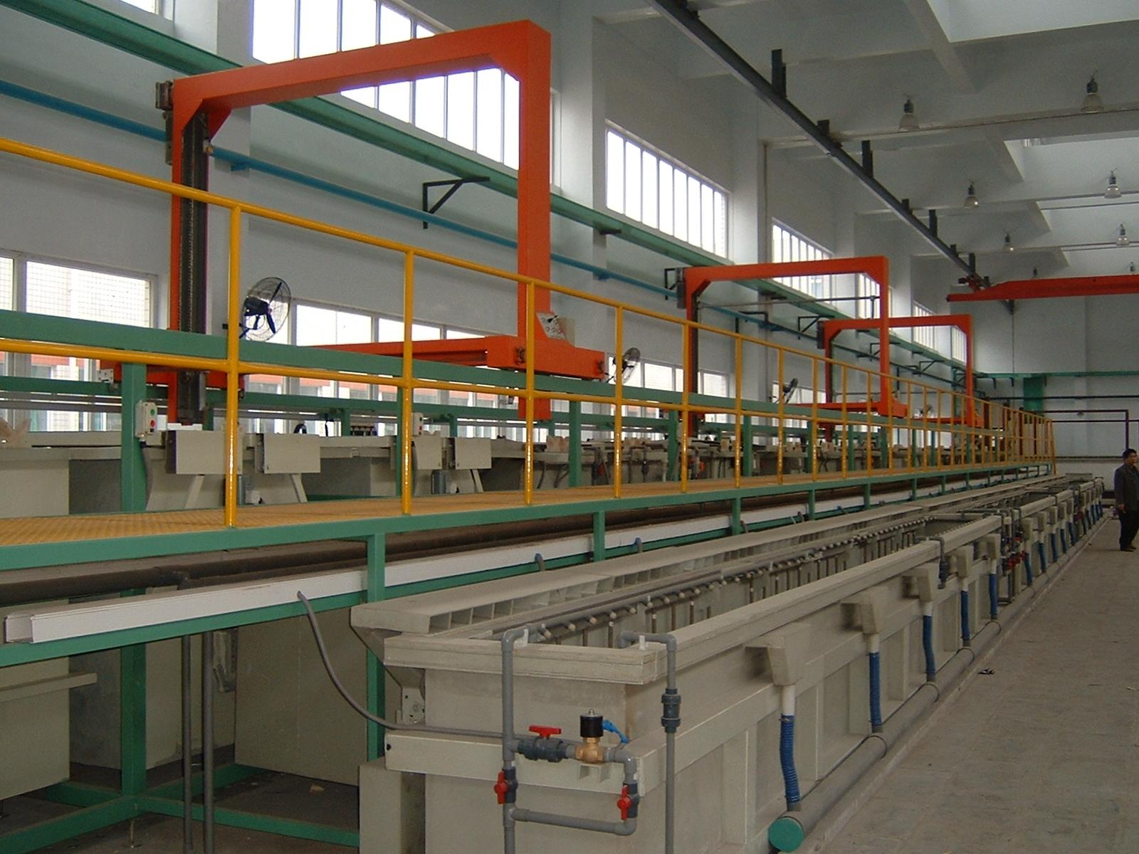 Zinc Chrome And Nickel Plating Equipment Plant Machine,Zinc